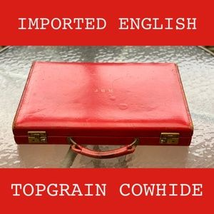 Bags - Imported English Topgrain Cowhide Travel Suitcase